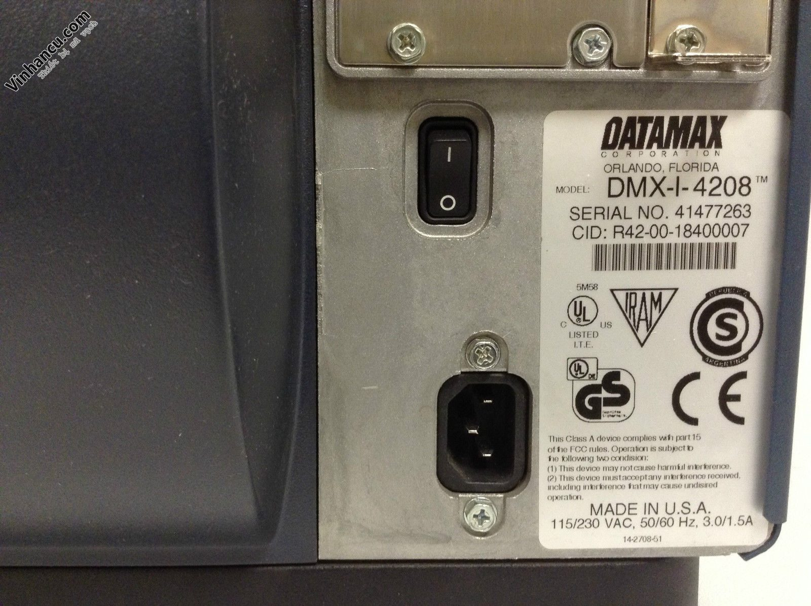 Datamax I 4208 203dpi My made in USA