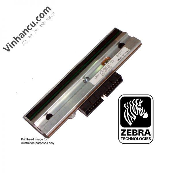 Đầu in nhiệt máy in mã vạch Zebra ZM6000