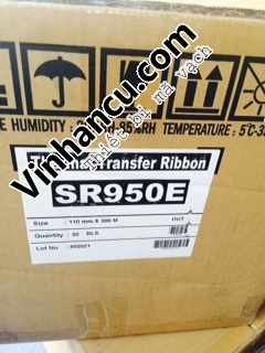 Ribbon General Japan cho máy in mã vạch đầu in nghiêng