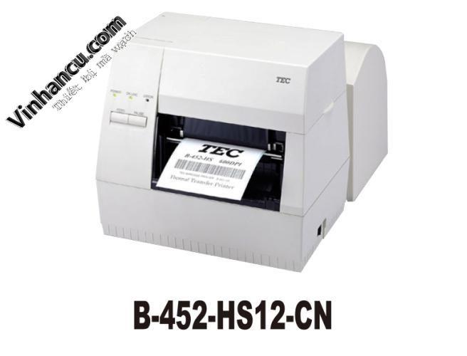 Máy in tem Toshiba Tec B-452HS 600 dpi