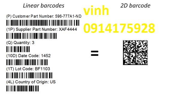 phân biệt mã vạch barcodes và mã qr codes